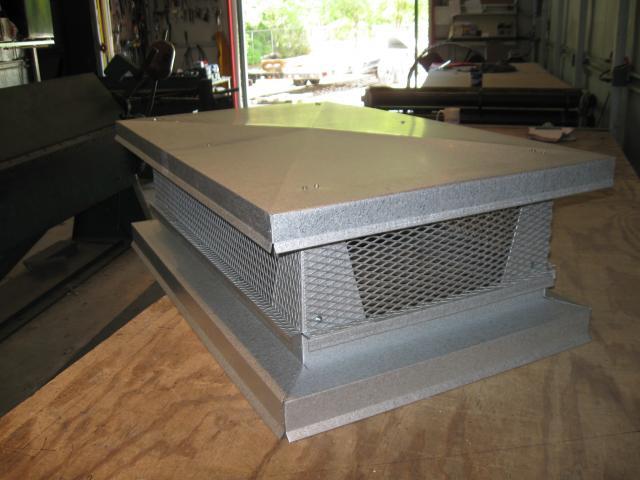 Metal Clad Industries Chimney Caps