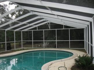 Metal clad industries pool enclosures for Pool enclosure design software